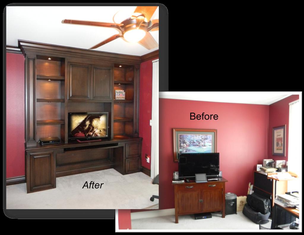 convert office into Guest Bedroom