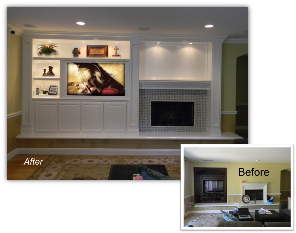 specialize in Custom Cabinets