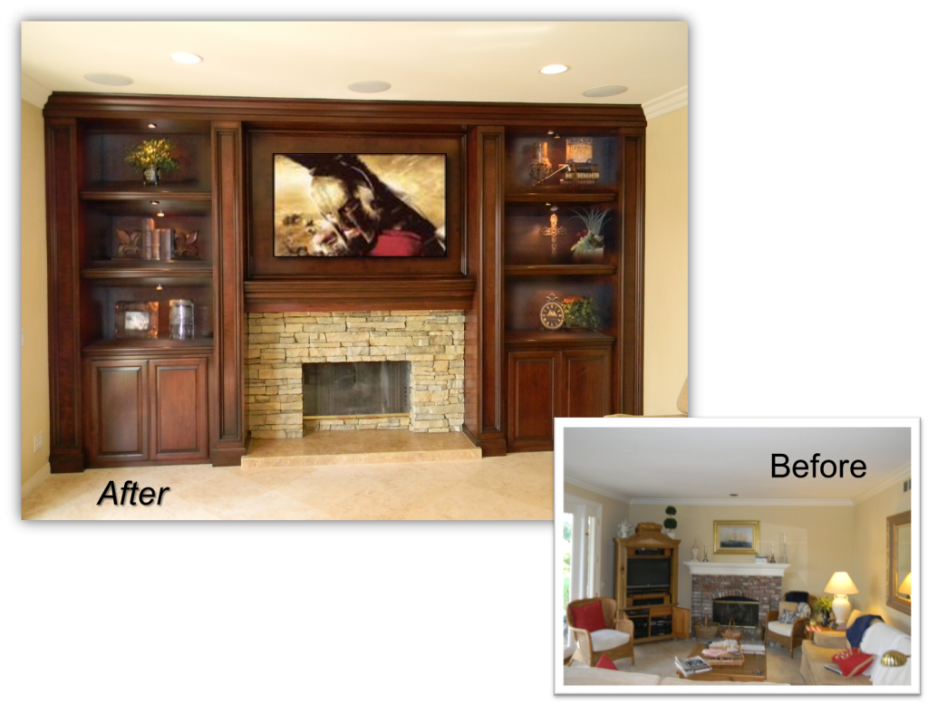 Home theater renovations team
