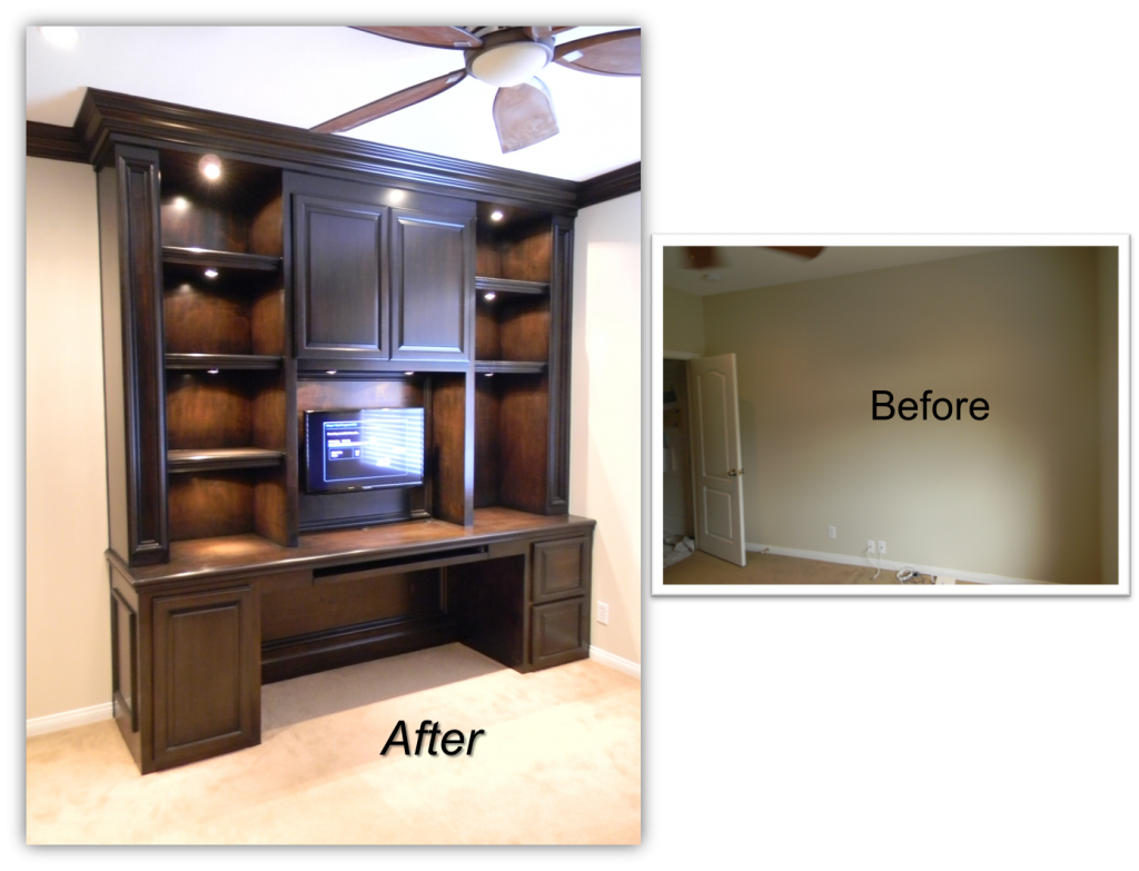 Murphy bed and Workstation