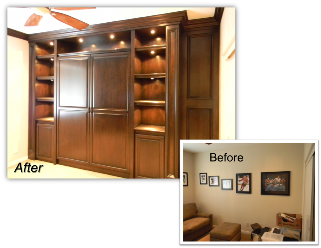Guest room renovation