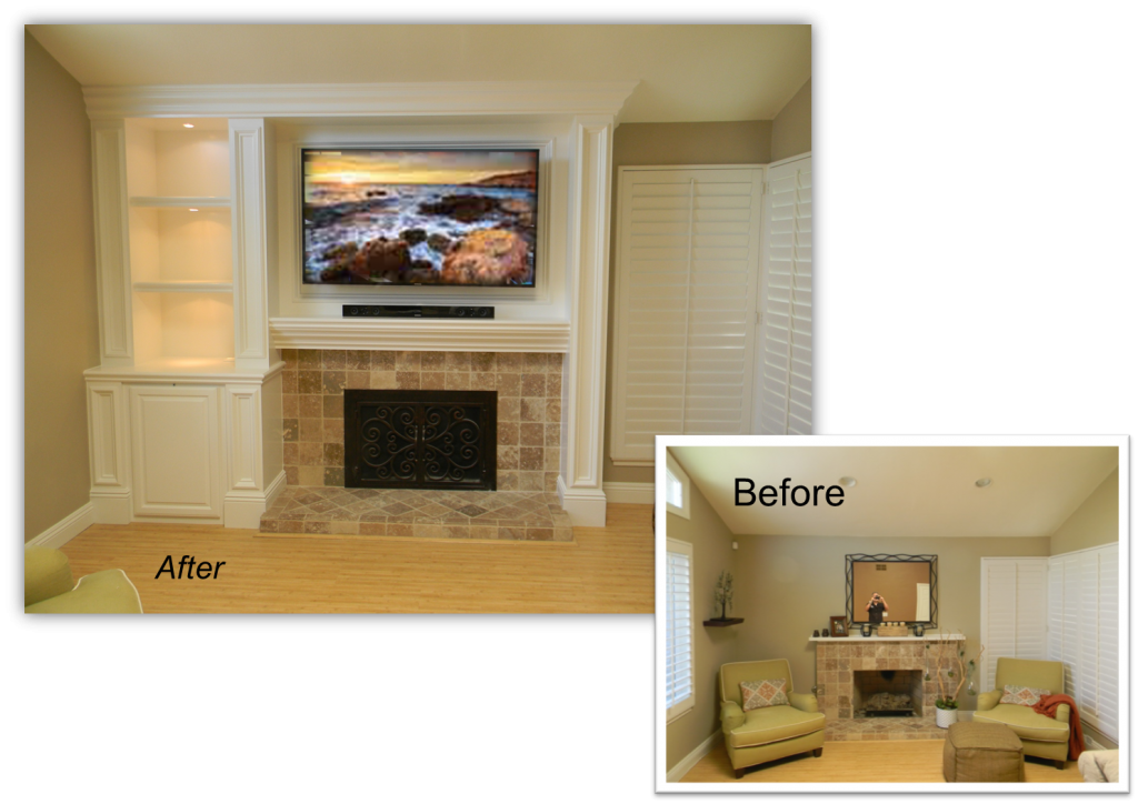 Entertainment Center and Home Theater