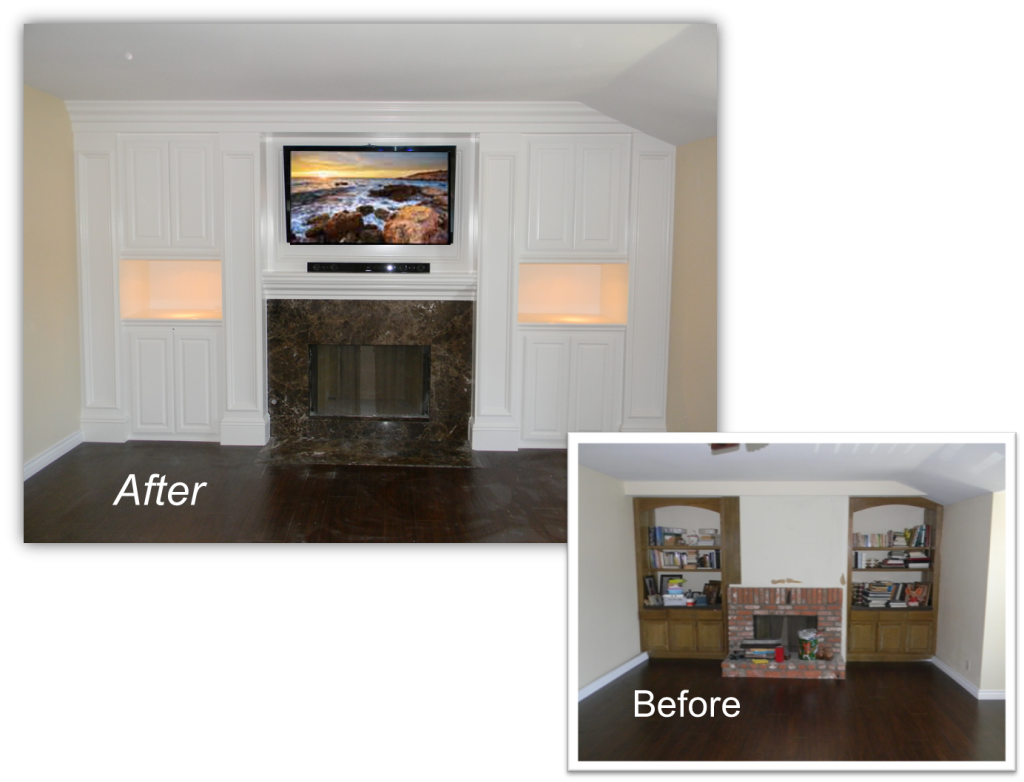 Entertainment Center - Home Theater Solution by Appleton Renovations
