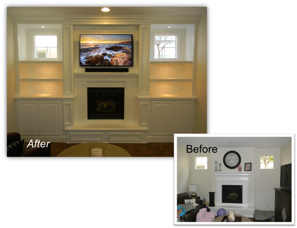 Hand Crafted Custom Built-In Home Theater