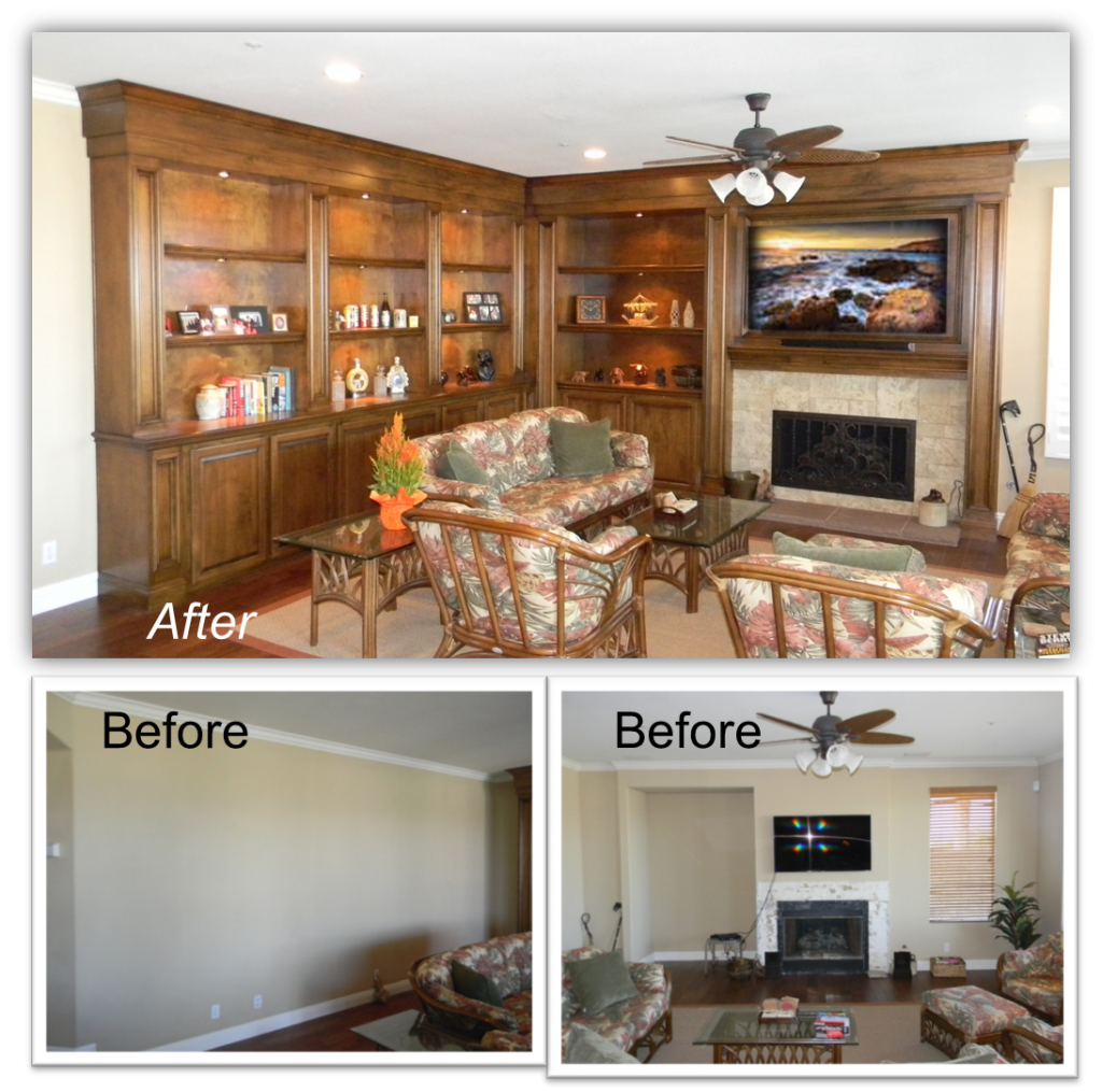 Hand Crafted Built-Ins & Entertainment Centers by: www.AppletonRenovations.com
