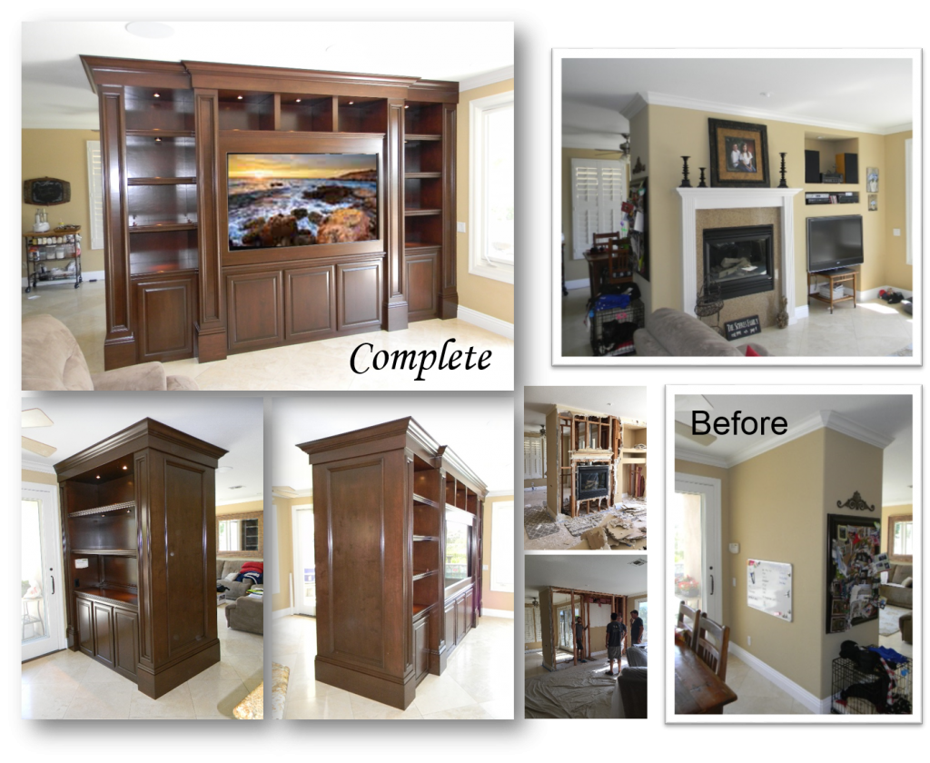 Custom Built-ins and Home Theater by: www.AppletonRenovations.com (949) 887-6764 Sales@AppletonRenovations.com Custom Cabinets Orange County CA