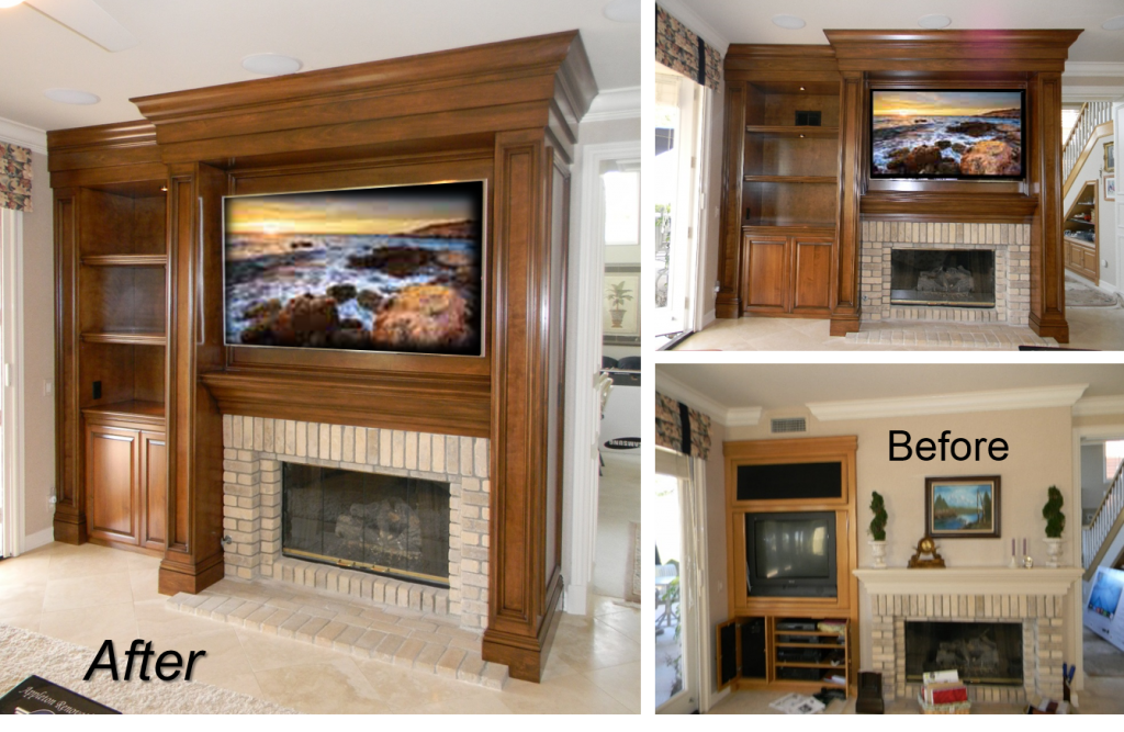 Built-Ins & Entertainment Centers by: www.AppletonRenovations.com (949) 887-6764 Sales@AppletonRenovations.com Custom Cabinets Orange County CA
