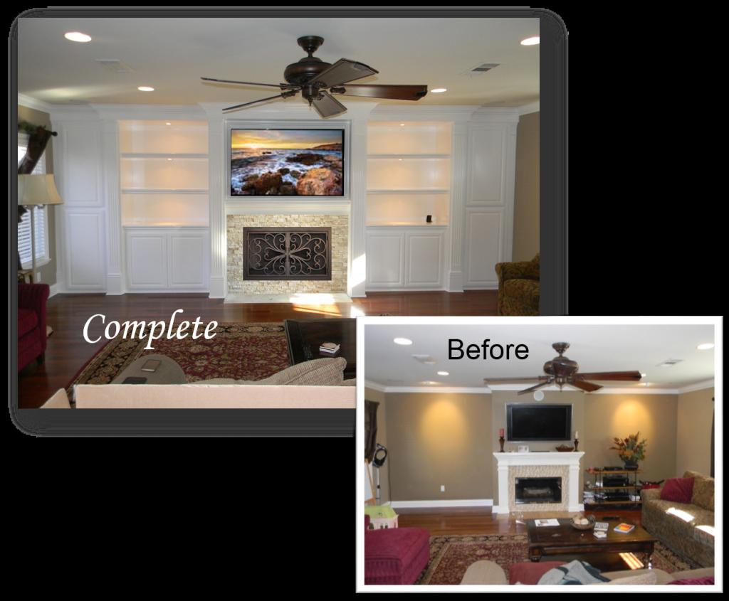 Custom Built-Ins & Entertainment Centers by: www.AppletonRenovations.com (949) 887-6764 Sales@AppletonRenovations.com Custom Cabinets Orange County CA