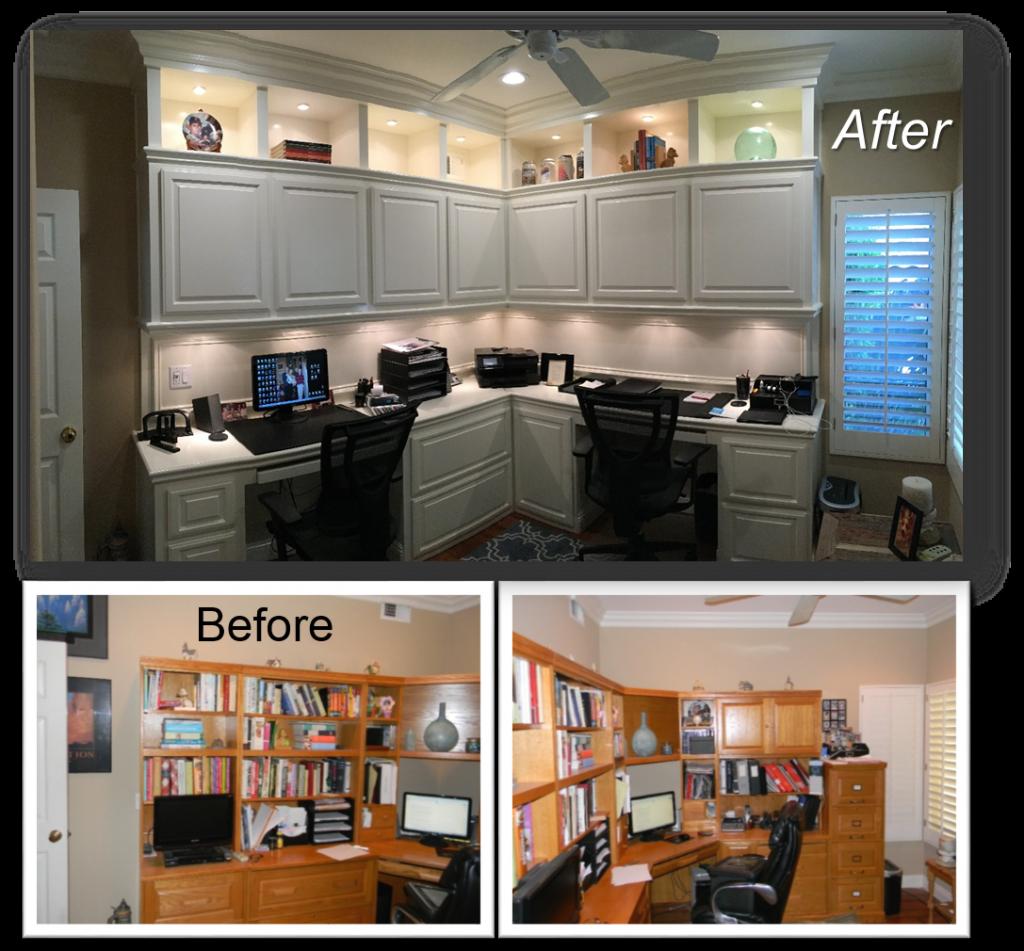 Office Custom Built-Ins & Entertainment Centers by: www.AppletonRenovations.com (949) 887-6764 Sales@AppletonRenovations.com Custom Cabinets Orange County CA