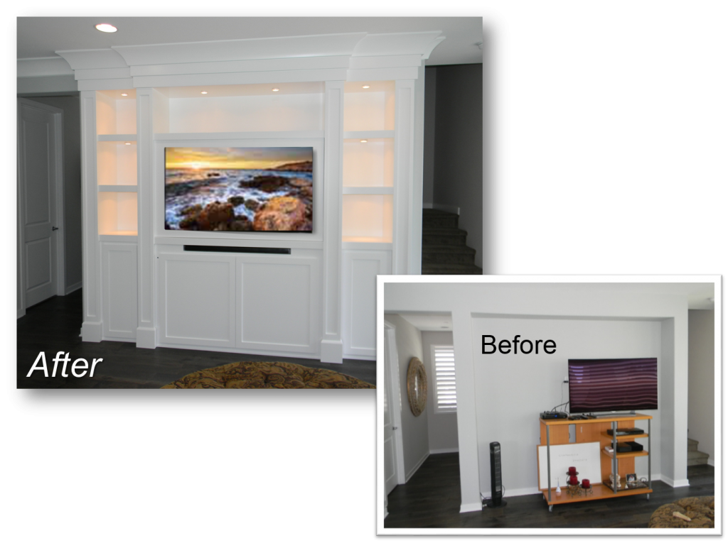 Custom Built-In May 16th, 2016 & Entertainment Centers by: www.AppletonRenovations.com (949) 887-6764 Sales@AppletonRenovations.com Custom Cabinets Orange County CA