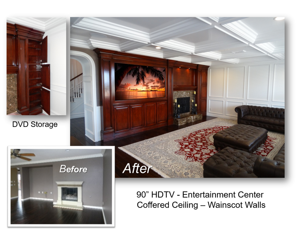 Custom Built-In July 11th, 2016 & Entertainment Centers by: www.AppletonRenovations.com (949) 887-6764 Sales@AppletonRenovations.com Custom Cabinets Orange County CA Custom Cabinets Orange county CA, built-ins, Home Theater, Entertainment Centers