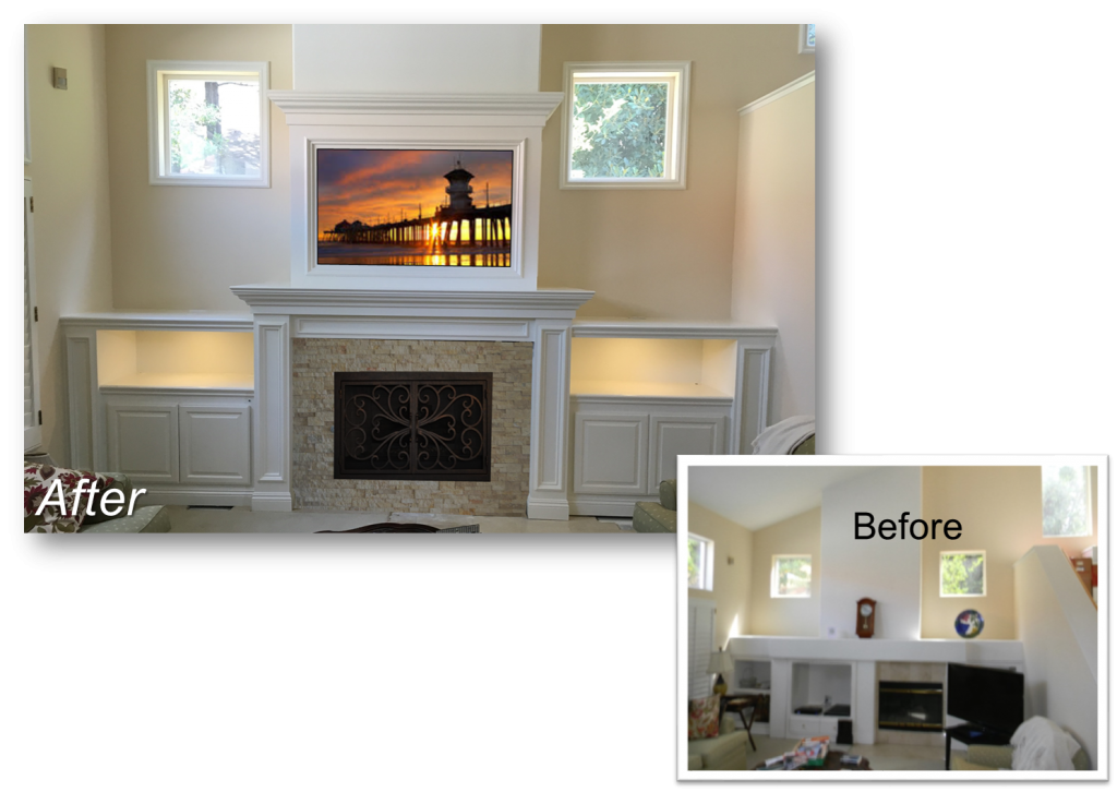 Custom Built-In August 12th, 2016 & Entertainment Centers by: www.AppletonRenovations.com (949) 887-6764 Sales@AppletonRenovations.com Custom Cabinets Orange County CA Custom Cabinets Orange county CA, built-ins, Home Theater, Entertainment Centers 5 Star Rating with Yelp & Angies List