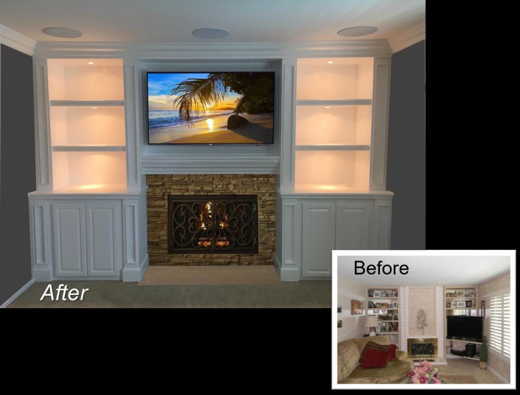 Custom Built-In September 23th, 2016 & Entertainment Centers by: www.AppletonRenovations.com (949) 887-6764 Sales@AppletonRenovations.com Custom Cabinets Orange County CA