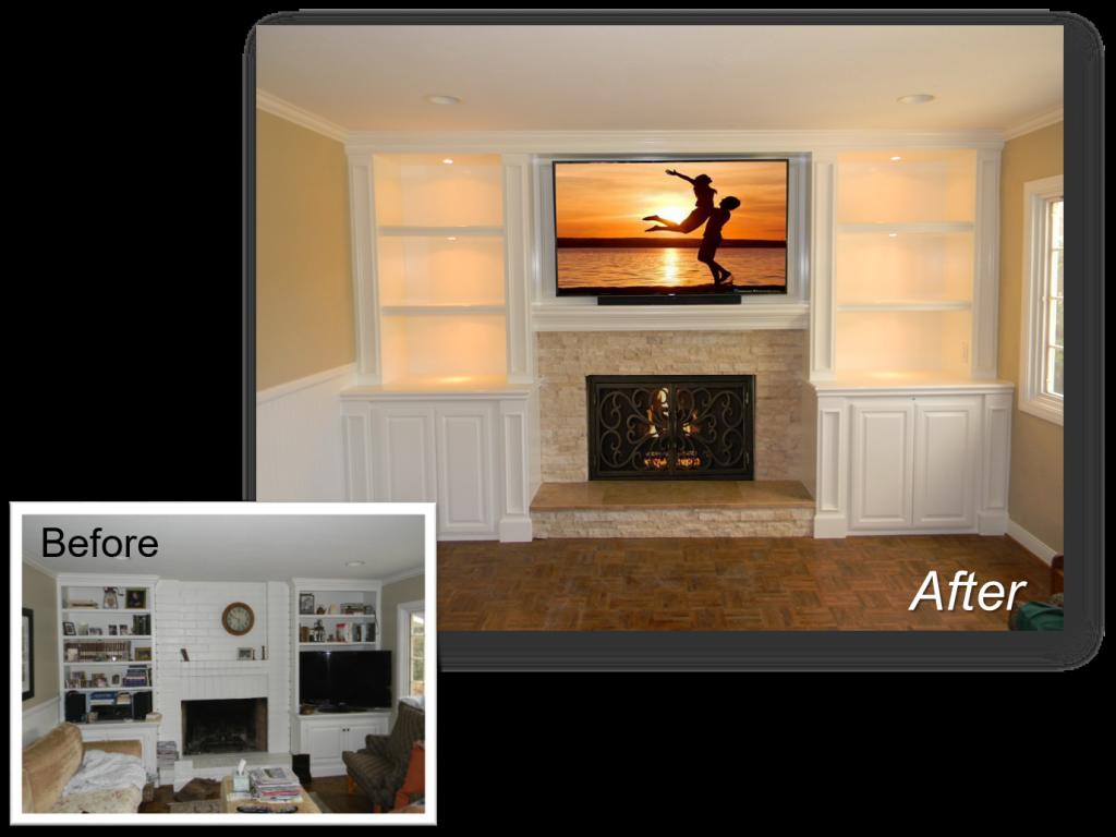 Custom Built-In October 7th, 2016 & Entertainment Centers by: www.AppletonRenovations.com  (949) 887-6764 Sales@AppletonRenovations.com Custom Cabinets Orange County CA