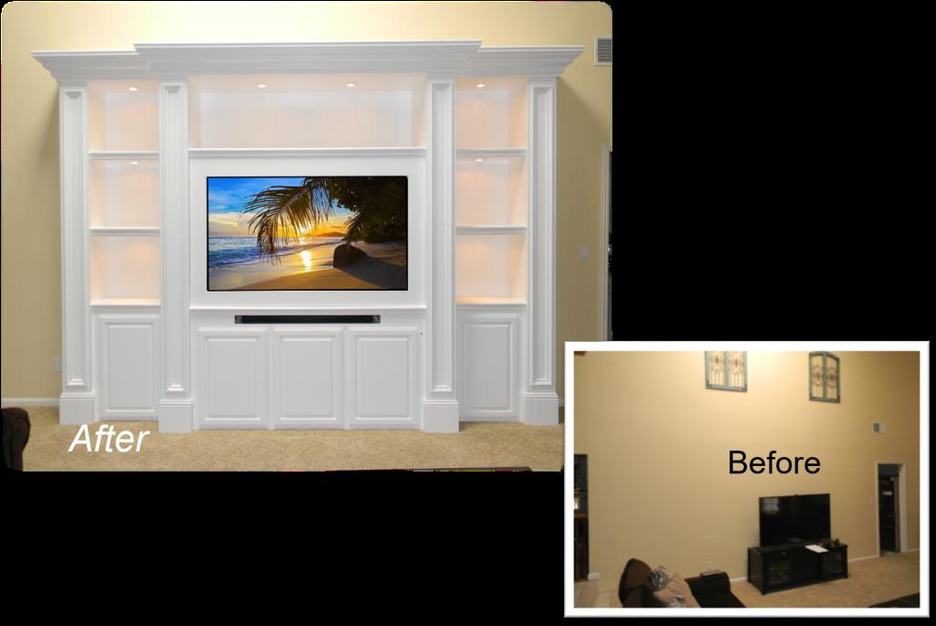 Custom Built-In – Entertainment Centers by: www.AppletonRenovations.com (949) 887-6764 Sales@AppletonRenovations.com Custom Cabinets Orange County CA Custom Cabinets Orange county CA, built-ins, Home Theater, Entertainment Centers