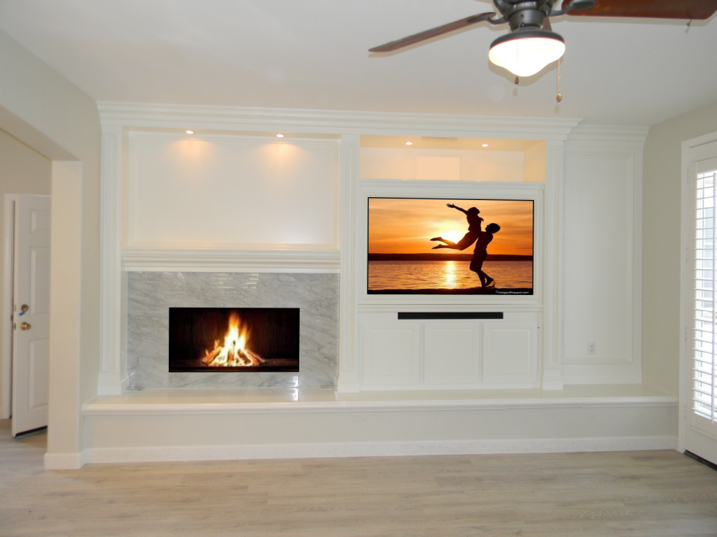 Custom Built-Ins - Entertainment Centers - Home Theater Solutions by: www.AppletonRenovations.com (949) 887-6764 Sales@AppletonRenovations.com