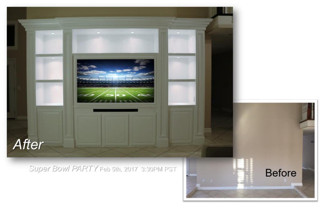 Custom Built-Ins - Entertainment Centers - Home Theater Solutions by: www.AppletonRenovations.com  (949) 887-6764 Sales@AppletonRenovations.com   Custom Cabinets Orange county CA, built-ins, Home Theater, Entertainment Centers  5 Star Rating with Yelp & Angies List