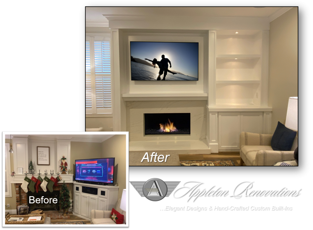 Custom Built-Ins - Entertainment Centers - Home Theater Solutions by: www.AppletonRenovations.com        (949) 887-6764    Sales@AppletonRenovations.com Custom Cabinets Orange County CA #CustomBuiltIns #CustomCabinets #CustomEntertainmentCenters #HomeTheater