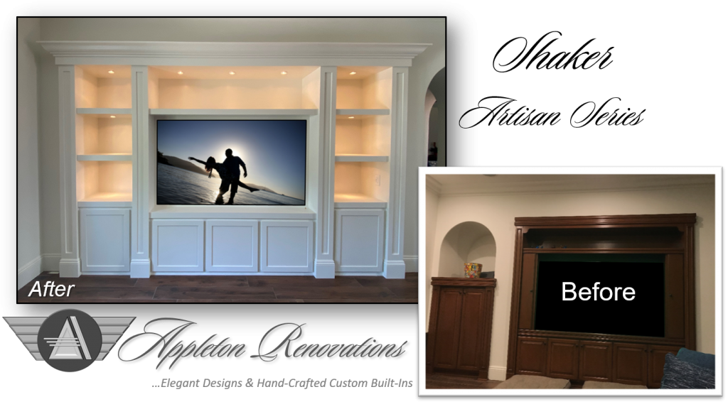 Custom Built-Ins – Entertainment Centers – Home Theater Solutions by: www.AppletonRenovations.com (949) 887-6764 Sales@AppletonRenovations.com Custom Cabinets Orange County CA #CustomBuiltIns #CustomCabinets CustomEntertainmentCenters #HomeTheater