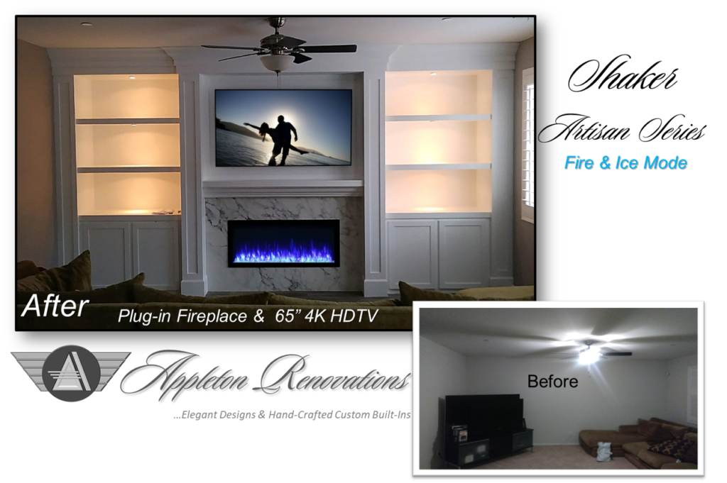 Custom Built-Ins – Entertainment Centers – Home Theater Solutions by: www.AppletonRenovations.com (208) 996-6764 Sales@AppletonRenovations.com Custom Cabinets Ada County ID #CustomBuiltIns #CustomCabinets CustomEntertainmentCenters #HomeTheater